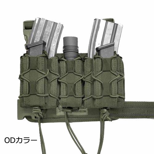 WARRIOR ASSAULT SYSTEMS SABRE LEG RIG MK1 コンパクトレッグパネル ライフル・ピストルマグポーチ付属