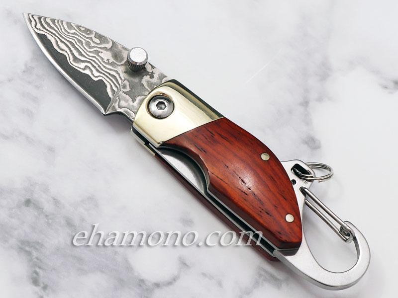 マウス ダマスカス ナイフ