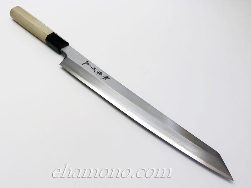 堺孝行 シェフ銀三鋼 剣型柳刃300