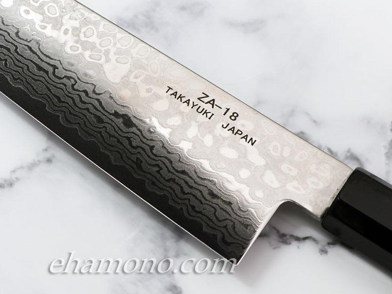 ZA18ダマスカス コバルト鋼【銀河】 和牛刀240