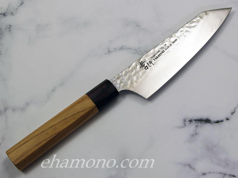 堺孝行 V金10号ダマスカス33層鎚目 和式剣型三徳