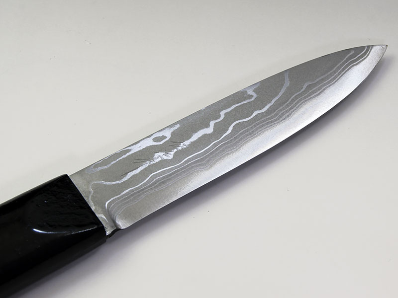 佐治武士作【マキリ小刀】白紙多層鋼 片刃
