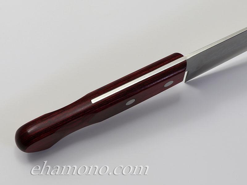 越前丸勝作「V金10号多層鋼鍛造 剣型包丁」