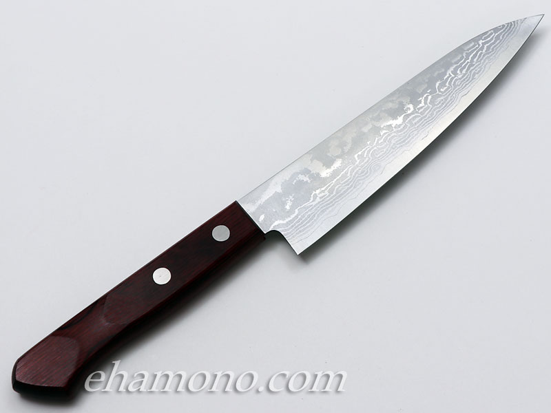 越前丸勝作「V金10号多層鋼鍛造 ペティナイフ」