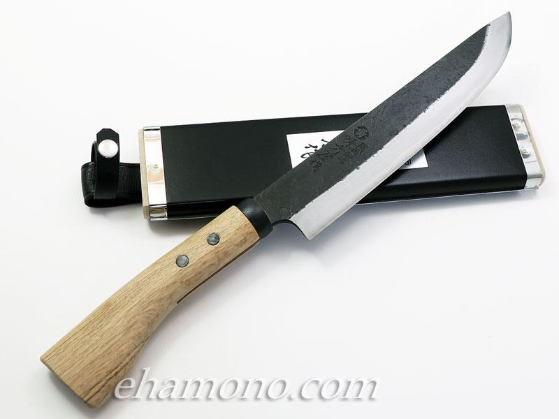 日野浦刃物工房 味方屋作 剣鉈 240 両刃