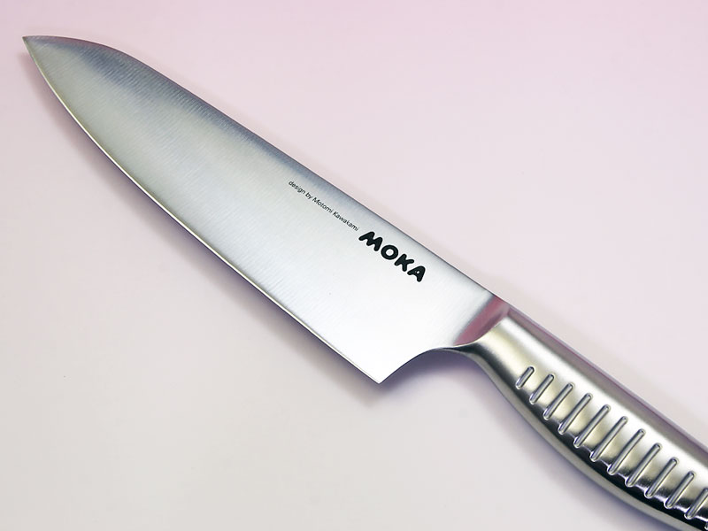 MOKA モリブデンバナジウム鋼一体型三徳包丁