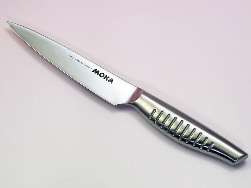 MOKA モリブデンバナジウム鋼一体型ペティナイフ130