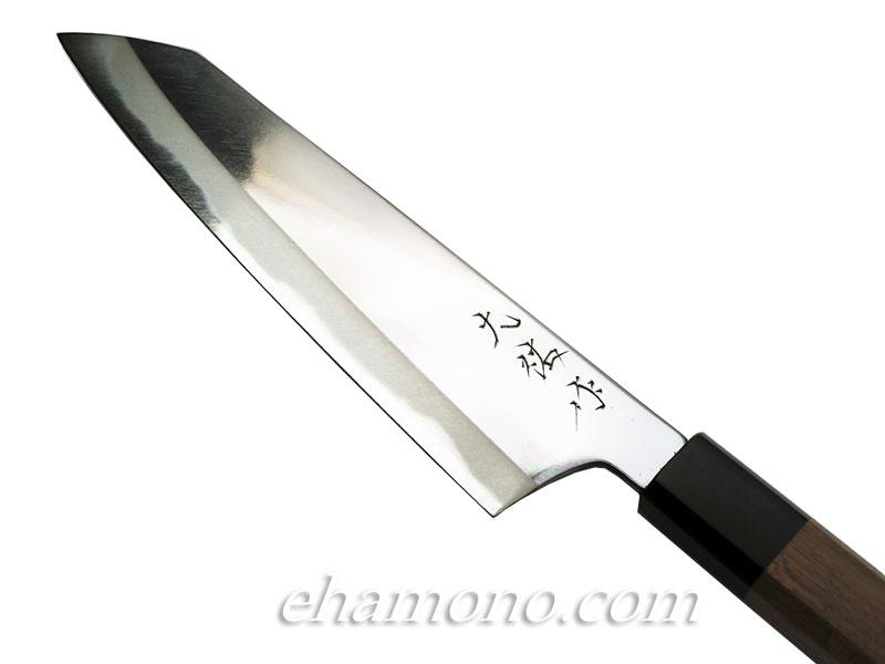 西田刃物工房 大祐作 青紙スーパー本割込 切付牛刀165 ミガキ