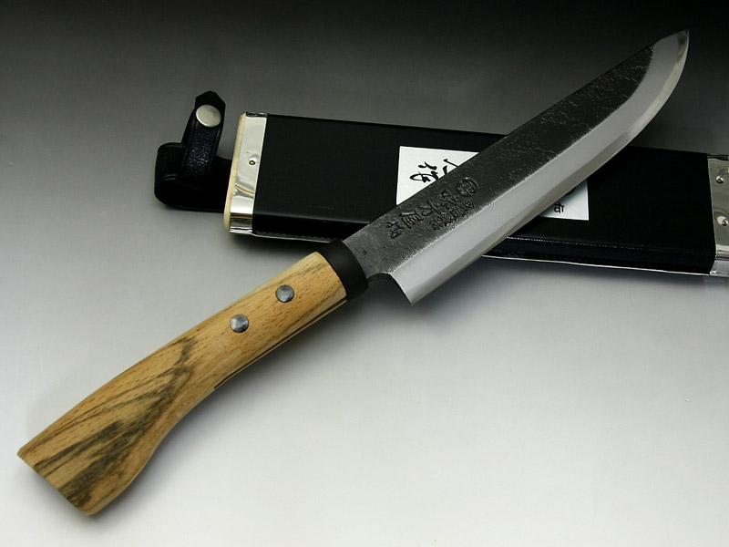 日野浦刃物工房 味方屋作 剣鉈 210 片刃