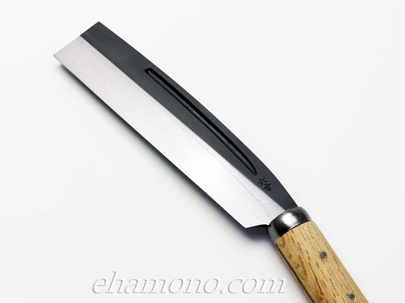 日野浦刃物工房 味方屋作 鞘鉈6寸(180)片刃