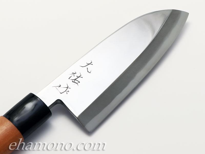 熊本鍛冶 西田大祐作 青二鋼本鍛造 出刃150 片刃