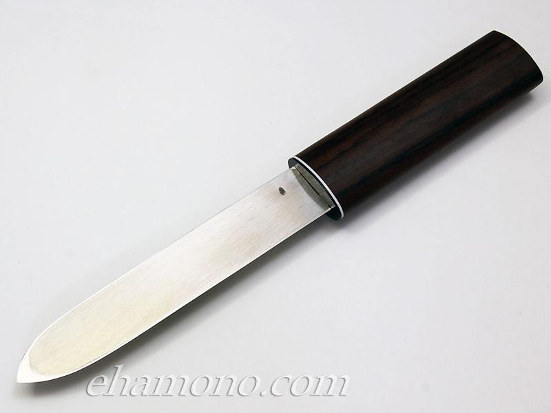 池内刃物 V金10号特別鍛造マキリ150ローズ鞘