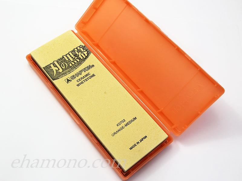 シャプトン刃の黒幕オレンジ中荒砥#1000