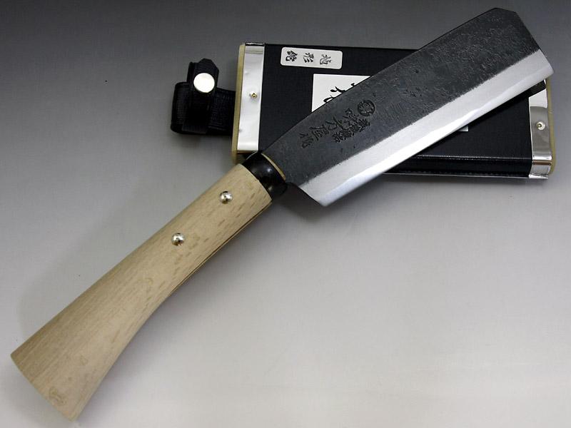 味方屋作 地型鉈 5.5寸(165)両刃