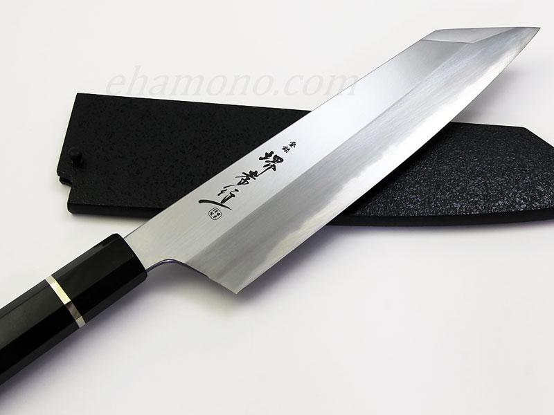 堺孝行 焔 (ほむら) 青二鋼 切付牛刀(剣型牛刀)225