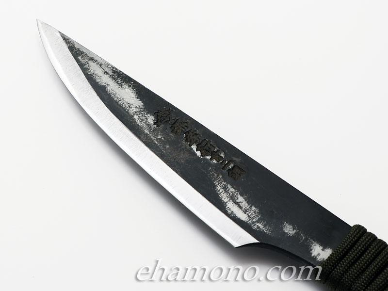 堺鍛冶士 土井逸夫作 焔 (ほむら) カスタムナイフ120