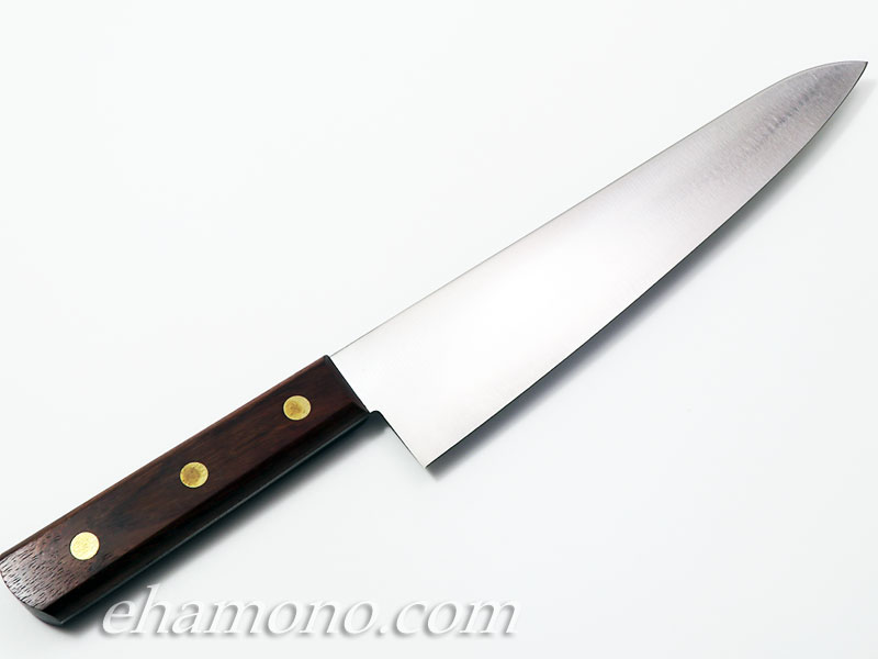 正広別作 平切 (牛刀)8寸 240mm 木柄 左利き用