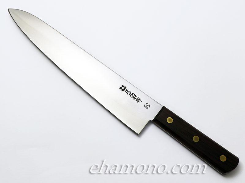 正広別作 平切(牛刀) 9寸 270mm 木柄 左利き用