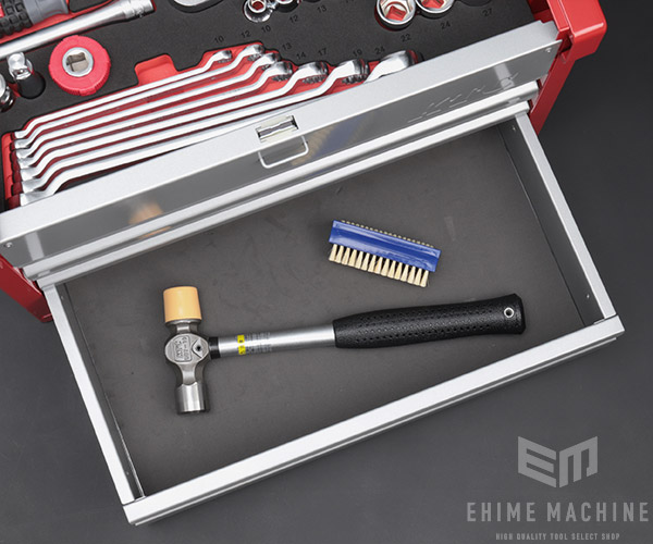 【KTC】 12.7sq. 59点工具セット SK45921E(特典付)シルバー×レッド 大型車・重機・農機用ツールセット EKR-103 採用モデル SK SALE 2021 SKセール