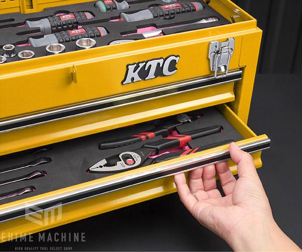 【KTC】 9.5sq. 51点工具セット SK35121XY(特典付)イエロー 新設計トレイ採用ツールセット SKX0213Y2 採用モデル SK SALE 2021 SKセール