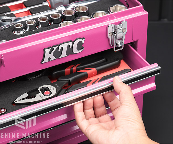 【KTC】 12.7sq. 60点工具セット SK46021XP(特典付)ピンク 大型車・重機・農機用ツールセット SKX0213P 採用モデル SK SALE 2021 SKセール