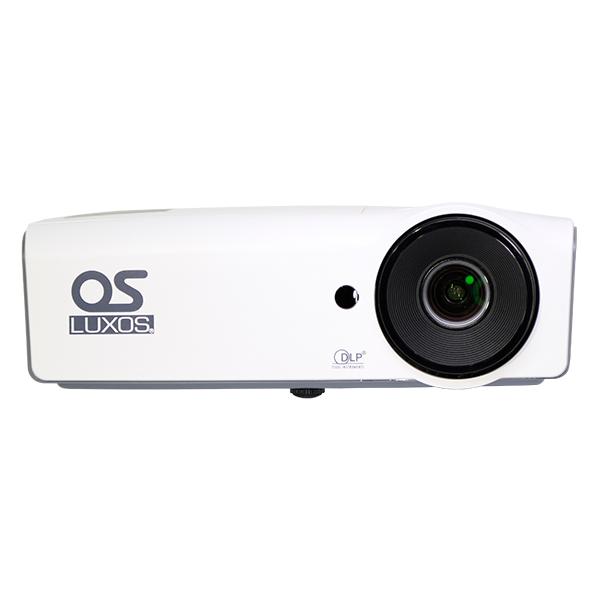 【OSブランド】SVGA DLPプロジェクター/77インチ 掛図スクリーンセット LUXOS ルクソス LP-300SV1S1