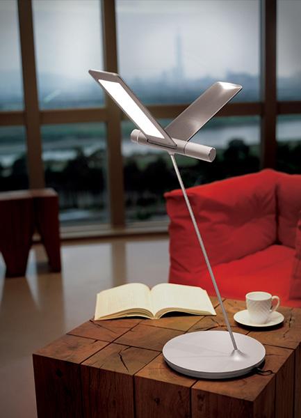 QisDesign(キスデザイン) LED照明|Seagull LED Table(シーガル・デスクライト)BD10_D