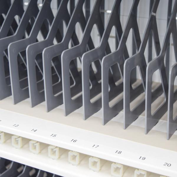 タブレット・PC 充電保管庫(キャビネットカート) OS オーエス TC-200-W