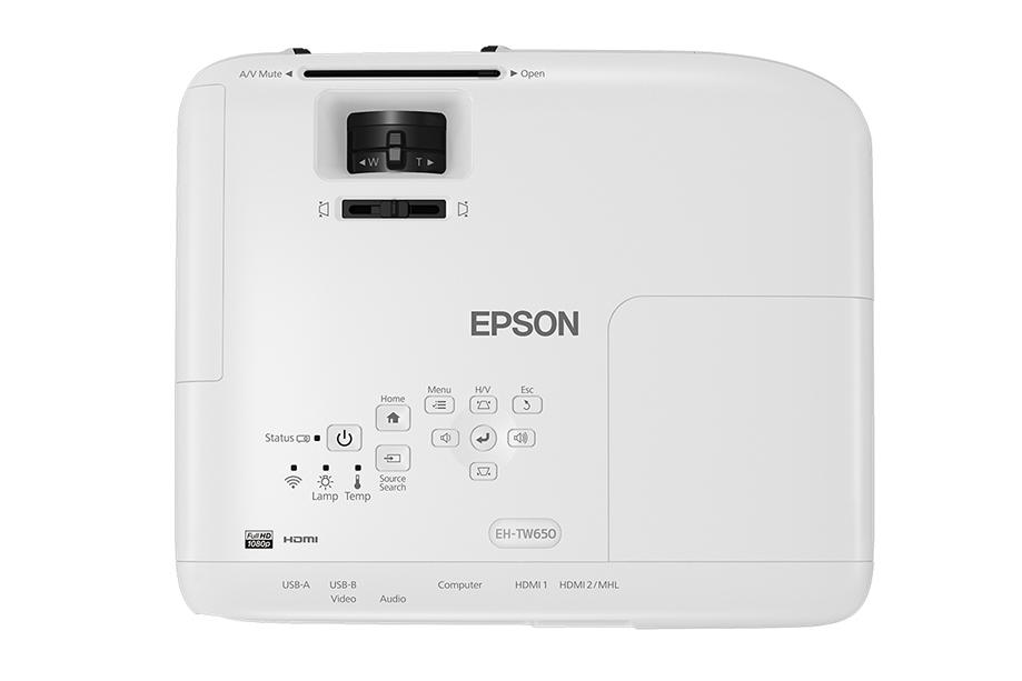 フルHD ホームプロジェクター dreamio EPSON エプソン EH-TW650
