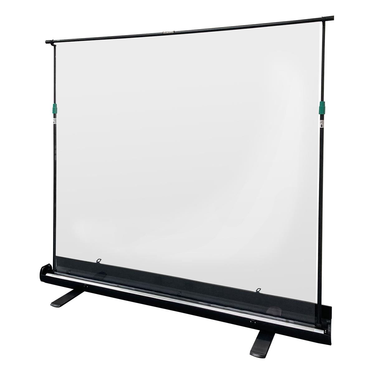 【コロナ対策】飛沫防止・透明パーテーション/自立型 シールドスクリーン OS オーエス PGF-1821S11-TT202