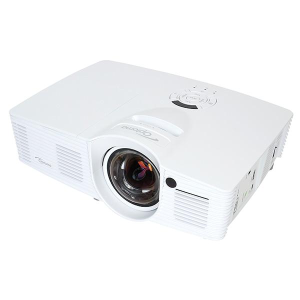 【2泊3日レンタル:8,960円〜】短焦点 フルHD DLPプロジェクター Optoma オプトマ GT1080(120インチ伸縮スクリーン/HDMIケーブル付)