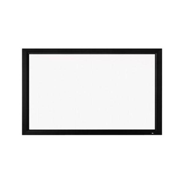 80インチ 張込 スクリーン 4K対応(ピュアマット�シネマ) OS オーエス PX-080H-WF302(フロッキー枠)