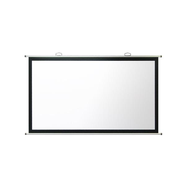 【ポールセット】OSスクリーン 80インチ 掛図 (マスク付き) SMH-080HM/取付ポール S-P3