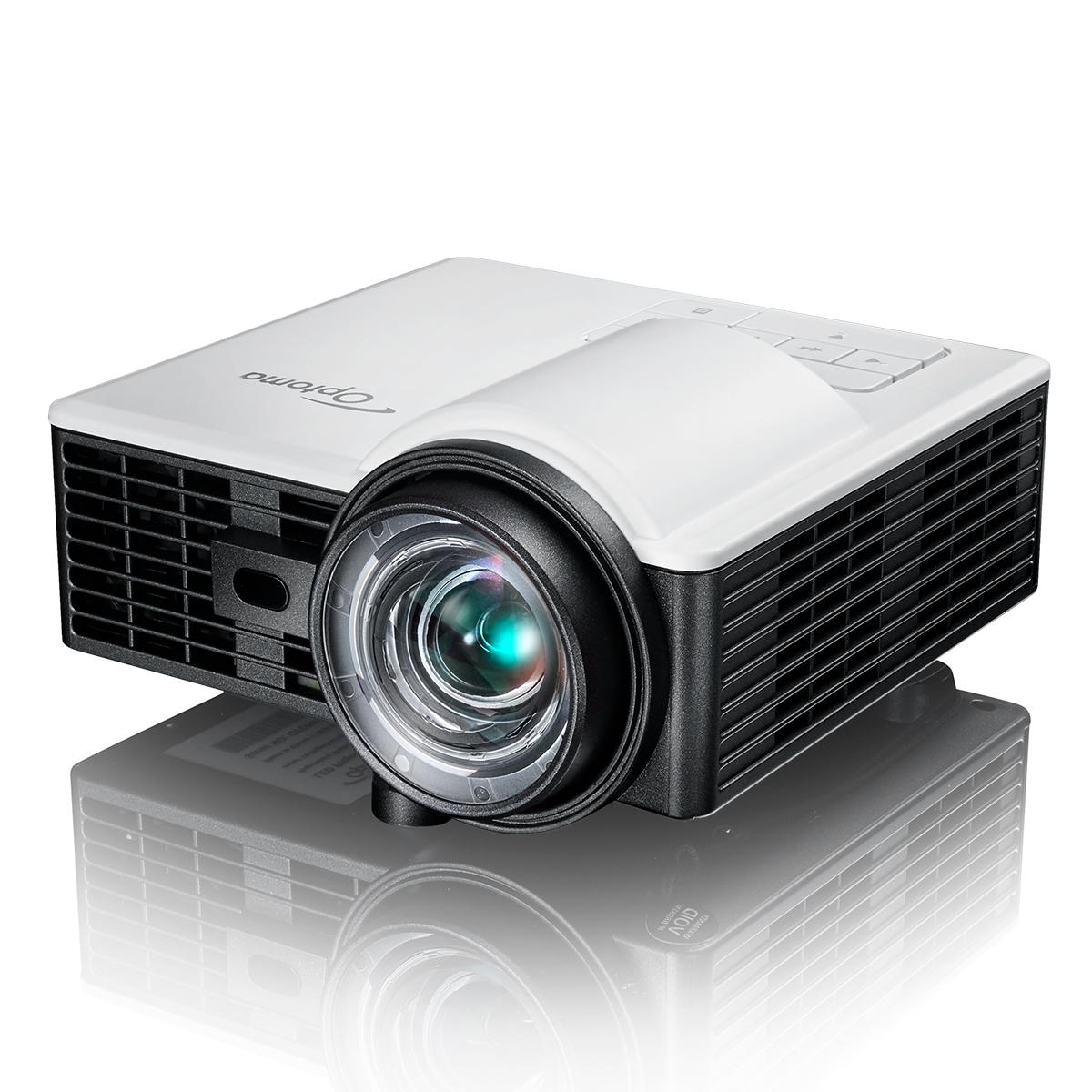 超小型 短焦点 LED モバイルプロジェクター Optoma オプトマ ML1050ST+S1J