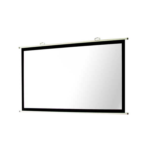 【ポールセット】OSスクリーン 100インチ 掛図 (マスク付き) SMH-100HM/取付ポール S-P3