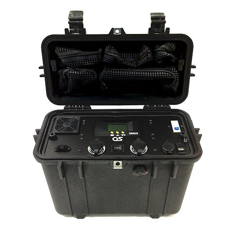 【防災/減災】430Wh BCP対応型バッテリーユニット ・ OS オーエス GB-0400W-AD01