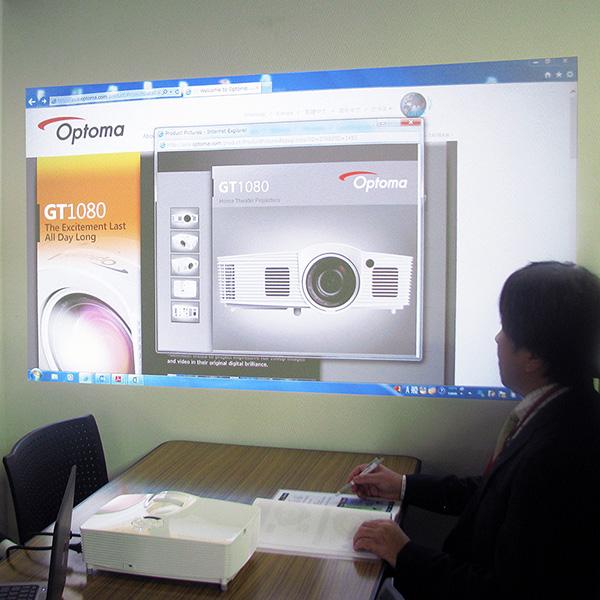 【中古美品・本体6ヶ月保証】短焦点 フルHD DLPプロジェクター Optoma オプトマ GT1080