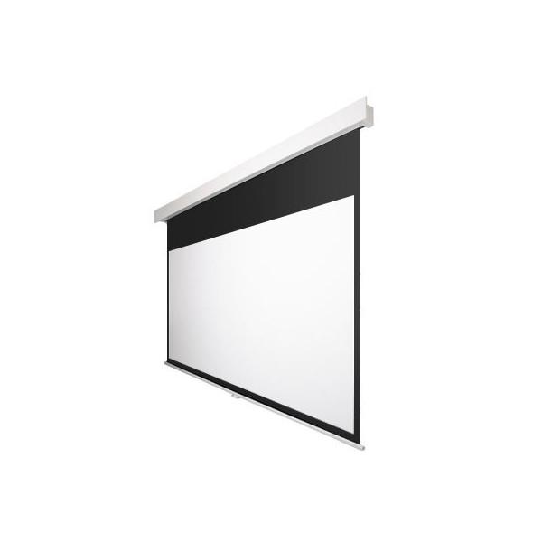 100インチ 手動 スクリーン フルHD対応(ピュアマット204) OS オーエス MP-100HM-K1/W1-WF204(黒/白パネル)