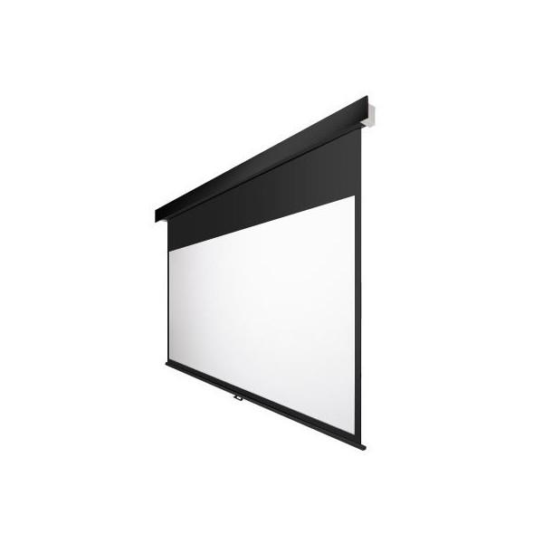 120インチ 手動 スクリーン フルHD対応(ピュアマット204) OS オーエス MP-120HM-K1/W1-WF204(黒/白パネル)