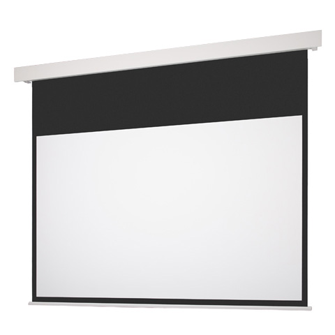 80インチ 電動 スクリーン フルHD対応(ピュアマット204) OS オーエス EP-080HM-MRK1/MRW1-WF204(黒/白パネル)