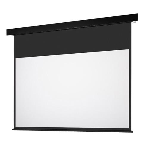 90インチ 電動 スクリーン フルHD対応(ピュアマット204) OS オーエス EP-090HM-MRK1/MRW1-WF204(黒/白パネル)