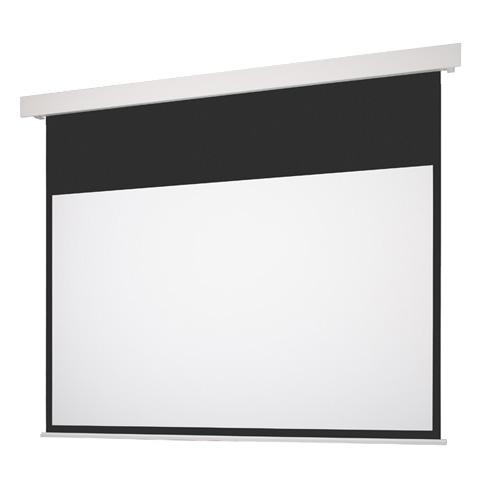 120インチ 電動 スクリーン フルHD対応(ピュアマット204) OS オーエス EP-120HM-MRK1/MRW1-WF204(黒/白パネル)