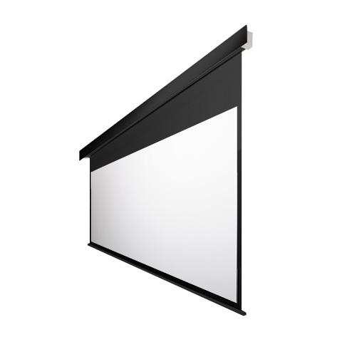 100インチ 電動 スクリーン 4K対応(ピュアマット�シネマ) OS オーエス EP-100HM-MRK1/MRW1-WF302(黒/白パネル)