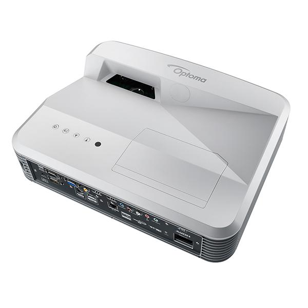 【中古・1年保証】超短焦点 フルHD DLPプロジェクター Optoma オプトマ EH320UST