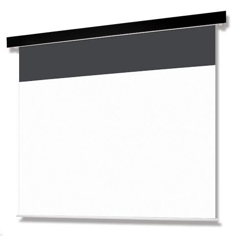 <ビジネス向け・WXGA用>120インチ 電動 スクリーン(エコマーク認定) OS オーエス SEP-120WF-MRK1/MRW1-ESeco(黒/白パネル)