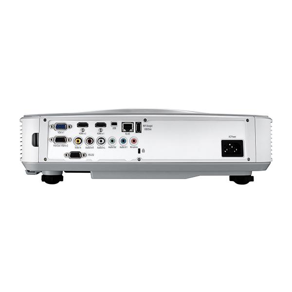 【中古美品・1年保証】超短焦点 フルHD レーザー DLPプロジェクター Optoma オプトマ ZH400UST