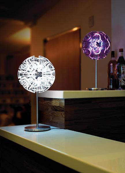 QisDesign(キスデザイン) LED照明|Coral Table 45(コーラル・テーブルランプ 45)CR01_DR45
