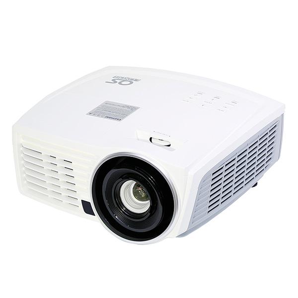 【OSブランド】フルHD DLPプロジェクター/77インチ 掛図スクリーンセット LUXOS ルクソス LP-200FH1S1