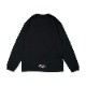 Arch pass the ball L/S tee BLACK [DRY]