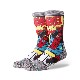 STANCE SPIDERMAN COMIC GRAY